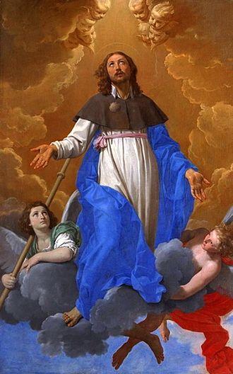 https://upload.wikimedia.org/wikipedia/commons/thumb/c/c9/Simone_Cantarini_-_Saint_James_in_Glory.jpg/330px-Simone_Cantarini_-_Saint_James_in_Glory.jpg