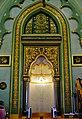 Singapore Sultanmoschee Innen Mihrab 1.jpg