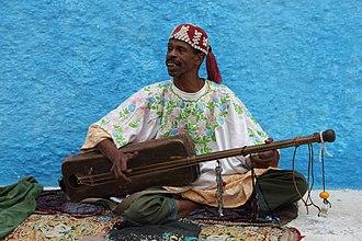 Sintir - Sintir player in Rabat, Morocco.