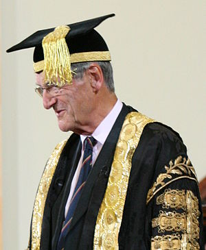 Dominic Cadbury - Attending a convocation ceremony at the University of Birmingham on 5 July 2012