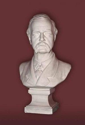 John Batty Tuke - Bust of Sir John Batty Tuke at the Royal College of Physicians of Edinburgh