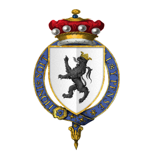 Thomas de Morley, 4th Baron Morley - Arms of Sir Thomas de Morley, 4th Baron Morley, KG