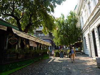 Skadarlija - Street in Skadarlija