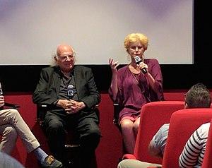 Anne Carlisle - Slava Tsukerman and Anne Carlisle at a screening of Liquid Sky at the Quad Cinema, New York City, in 2017