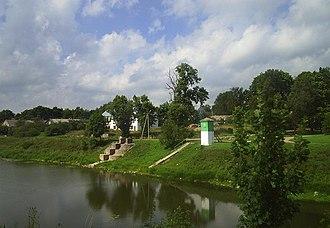 Smalininkai - Piers on the Nemunas River in Smalininkai