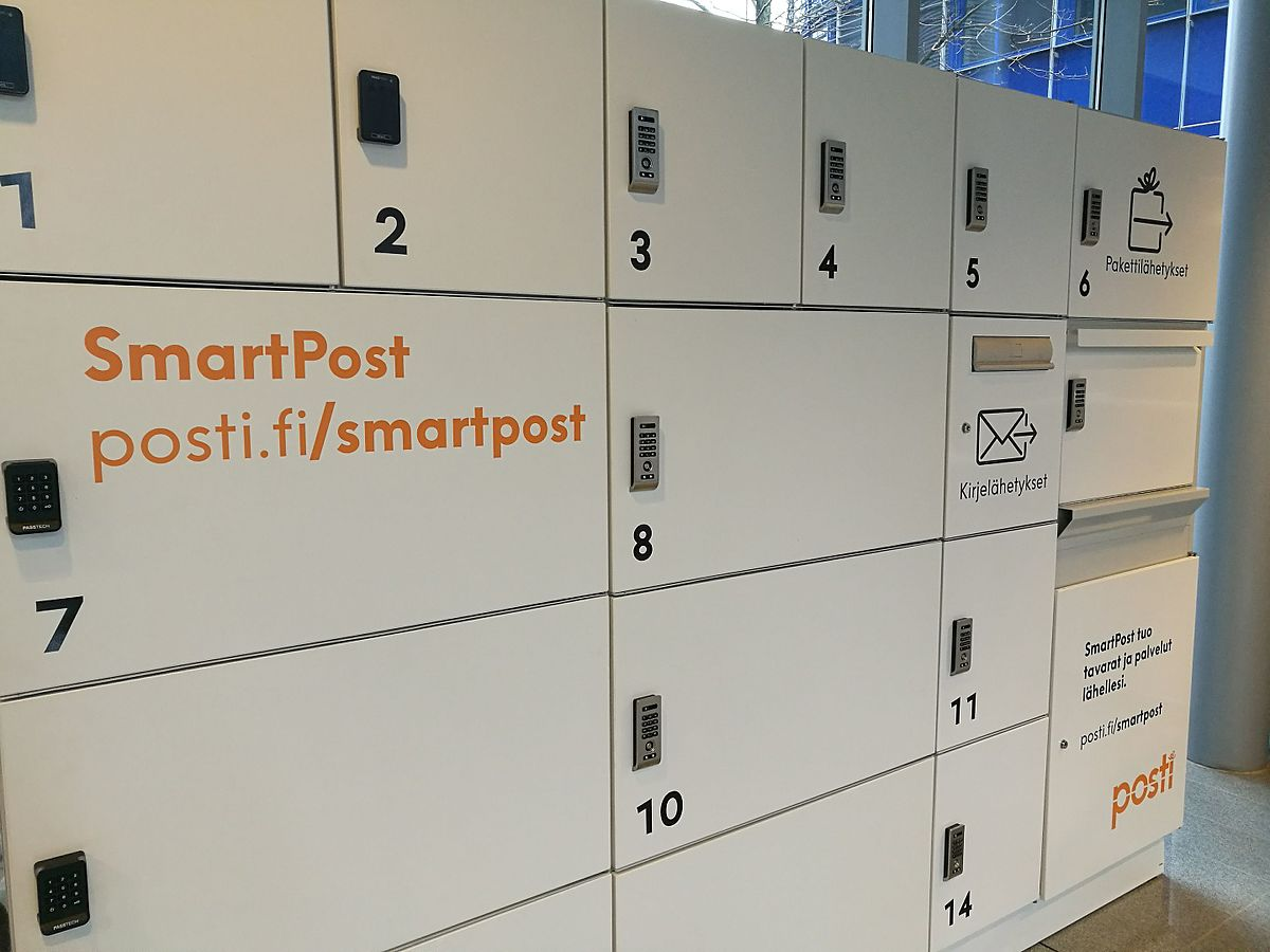 Smart Pakettiautomaatti