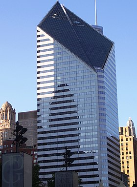 Smurfit-Stone Building Chicago from Millennium Park.jpg