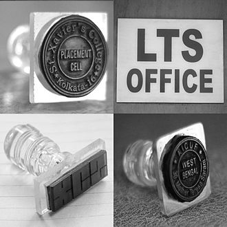 St. Xavier's College, Kolkata - A collage of stamps and club logos