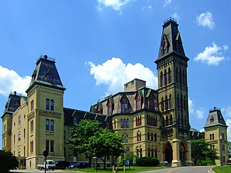 E. Townsend Mix - The National Soldiers' Home in Milwaukee was designed by Mix in the Gothic Revival style during the 1860s.
