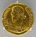 Solidus of Julian the Apostate, Antioch, 361-363 AD, gold - Arthur M. Sackler Museum, Harvard University - DSC01499.jpg