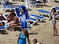 Sonic on Sunny Beach.JPG