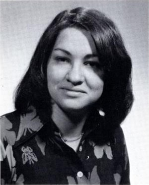 Sonia Sotomayor - Sotomayor's 1976 Princeton yearbook photo