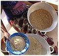 Soungouf - millet flour 7. fine pellet formation thièré.jpg