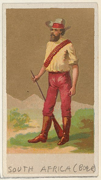 Allen & Ginter - Image: South Africa (Boer), from the Natives in Costume series (N16), Teofani Issue, for Allen & Ginter Cigarettes Brands MET DP834892