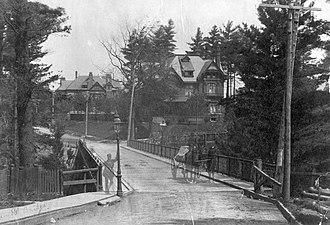 Rosedale, Toronto - Glen Road bridge, c. 1885-95
