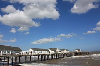 Southwold - Southwold Pier in the summer sunshine