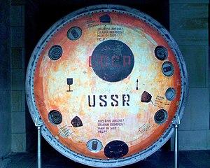 Soyuz 30 - Heatshield of the capsule