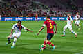 Spain - Chile - 10-09-2013 - Geneva - Gary Medel and Andres Iniesta.jpg