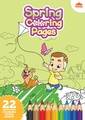 Spring Coloring Pages - Printable Coloring Book For Kids.pdf