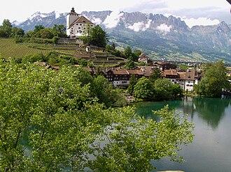 Grabs - Werdenberg village