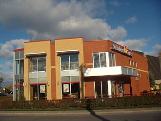 St-Hubert - A St-Hubert Express restaurant.