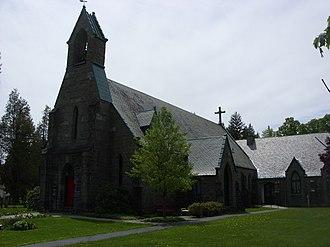New Berlin, New York - St. Andrew's Episcopal Church, New Berlin