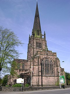 St Georges Church, Heaviley Church in Greater Manchester, England