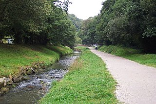 St Austell River river in the United Kingdom