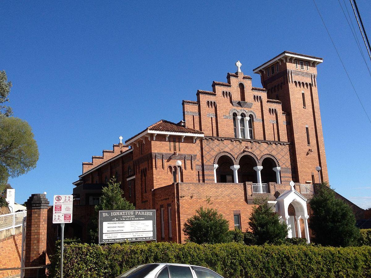 St Ignatius Loyola Church Toowong Wikipedia