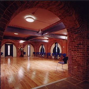St Peter's Church, Walworth - Image: St Peter's Crypt Hall