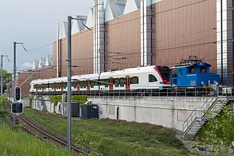 Stadler Rail - New train at Stadler Bussnang factory