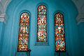 Stained glass work inside Saint John's Church.jpg