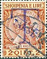 Stamp of Albania - 1914 - Colnect 376665 - Overprinted T and Takse in blue.jpeg