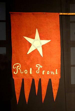 Roter Frontkämpferbund - Roter Frontkämpferbund standard, c. 1925