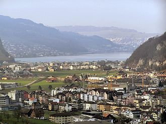 Stansstad - Stansstad and Lake Lucerne