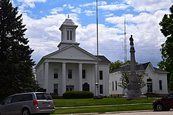 Stark County Courthouse in Toulon