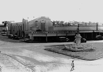 Murgon - War Memorial and Civic Centre in Lamb Street, Murgon, 1938