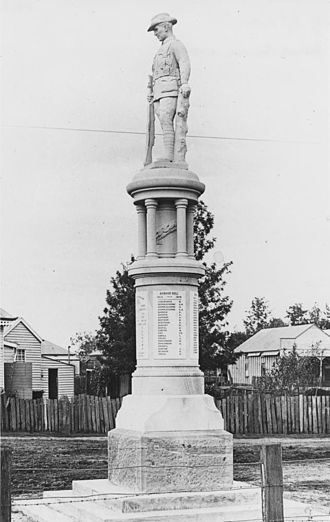 Forest Hill, Queensland - Forest Hill War Memorial