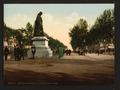 Statue Paul Riquet and the Allées, Béziers, France-LCCN2001697583.tif