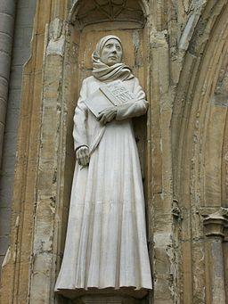 Statue of Dame Julian