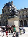 Statue of Louis XIV in Paris, 26 May 2012.jpg