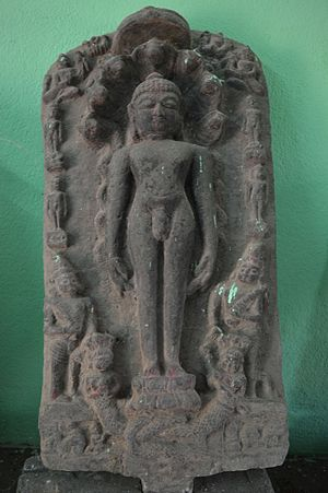 Purulia district - Image: Statue of Parshwanath at Pakbirra