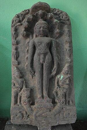 Purulia district - Image: Statue of Parshwanath at Pakbirra