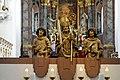 Statues of saints Kilian, Kolonat and Totnan - Choir - Neumünster - Würzburg - Germany 2017.jpg