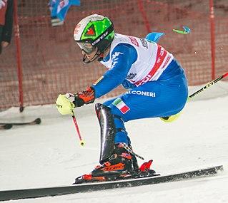 Stefano Gross Italian alpine skier