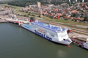 "Dutchflyer - The ""Stena Hollandica"" ferry at Hoek van Holland"