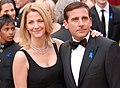 Steve Carell with wife Nancy Walls @ 2010 Academy Awards.jpg