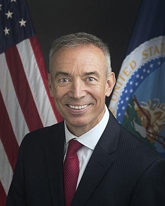 United States Deputy Secretary of Agriculture - Stephen Censky, current Deputy Secretary