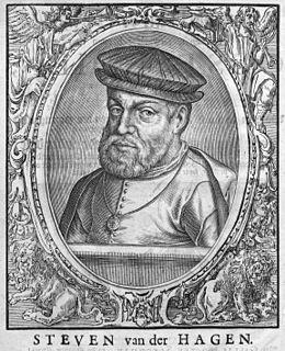Steven van der Hagen Dutch admiral