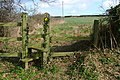 Stile Near Butts Cottage - geograph.org.uk - 716796.jpg